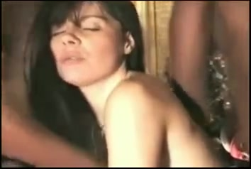 French Wife Interracial Gangbang
