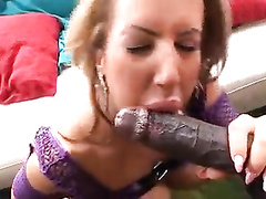Amazing wife w big ass gets bbc in her dirty holes