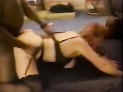 White redhead mature wife in bbc gangbang