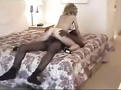 Enormous black dick for a gorgeous blonde wife