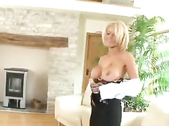 Big titted british wife gets planted on bbc