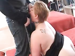 French mature bbw cumslut for blacks gets humiliated hard