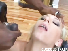 Sissy cuckold trainer compilation w white wives