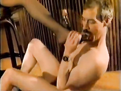 Vintage interracial bbc cuckold in front of hubby