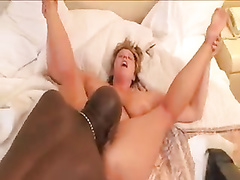 White mature mom interracial black cuckold