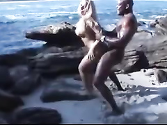 Hottest blonde wifey brutally fucked by bbc bull