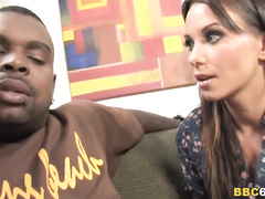 White wifey interracial double anal with bbc's