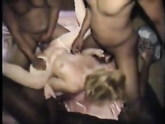 Unsatisfied cougars properly banged by six black lovers