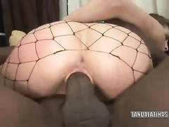 Naughty Nikki Nievez gets destroyed by a black dick