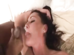 Sexy white wife needs to be treated like a slut