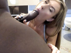 Gorgeous blonde wife fucked remarkable