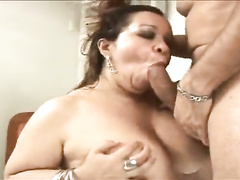 Mature brazilian latina mom hardcore gaging anal