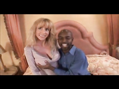 Big titted blonde mom gets interracial fuck of her life