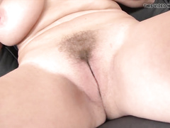White busty mature mom gets interracial bbc anal